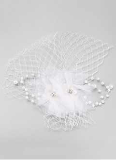 Glamourous/Elegant Imitation Pearls/Net Yarn Headpiece