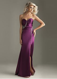 Sheath/Column Sweetheart Floor-Length Charmeuse Homecoming Dress With Ruffle Beading