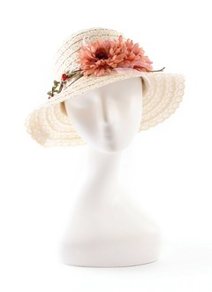Simple/Charming Raffia Straw Hats