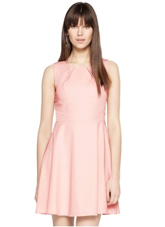 A-Line/Princess Scoop Neck Short/Mini Chiffon Cocktail Dress With Ruffle