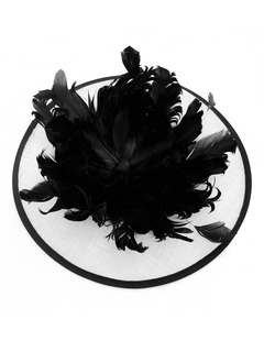 Gorgeous Feather/Cambric Fascinators