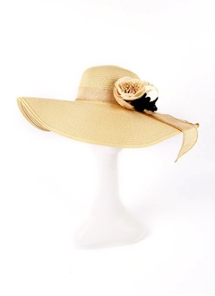 Simple/Stylish Rattan Straw Hats