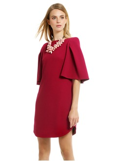 Sheath/Column Short/Mini Chiffon Cocktail Dress With Ruffle