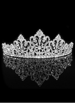 Beautiful/Gorgeous/Fashion/Shining/Eye-catching Rhinestone/Alloy Tiaras