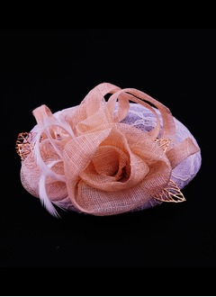 Special/Elegant Silk Flower/Cambric Fascinators