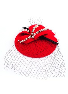 Classic/Bowknot Net Yarn/Wool Fascinators