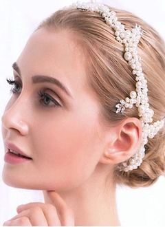 Beautiful/Fashion/Shining/Pretty/Charming Rhinestone/Imitation Pearls Headpiece