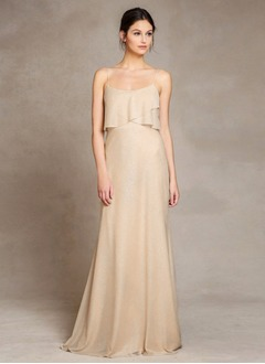 Trumpet/Mermaid Sweep Train Chiffon Prom Dress