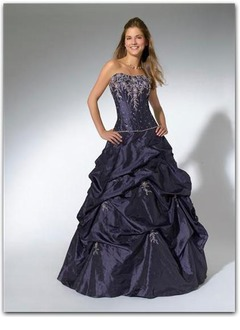 Ball-Gown Sweetheart Floor-Length Taffeta Prom Dress With Embroidered Beading