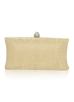 Elegant Satin With Rhinestone Clutches