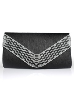 Gorgeous PU With Crystal/ Rhinestone Clutches
