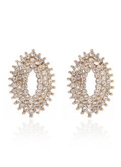 Fashional Alloy With Crystal Ladies' Earrings