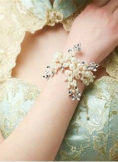 Brillant Pearl/Strass avec Pearl/Strass Dames Bracelets
