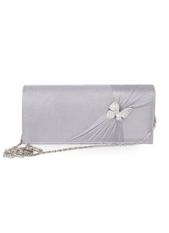 Fashional Silk With Rhinestone Clutches (01205015618)