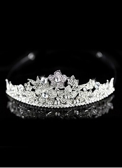 Gorgeous/Eye-catching/Charming Rhinestone/Alloy Tiaras