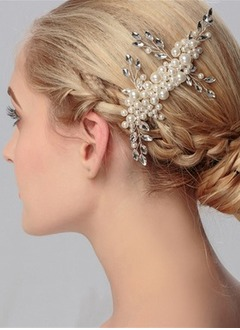 Beautiful/Lovely/Shining/Nice/Pretty Rhinestone/Imitation Pearls Headpiece