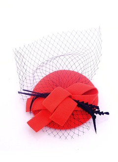 Gorgeous/Bowknot Net Yarn/Wool Fascinators
