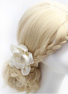 Pretty Silk Flower Flowers & Feathers