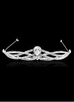 Brillant/Accrocheur Zircon cubique/Alliage Tiaras