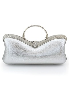 Gorgeous PU With Metal/Pearl Clutches/Cross-Body Bags/Shoulder Bags