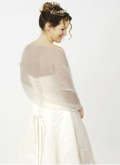 Organza Charmeuse Special Occasion Shawl