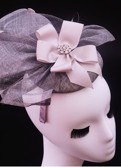 Rhinestone/Satin/Cambric Fascinators