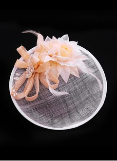 Glamourous/Elegant Alloy/Imitation Pearls/Silk Flower/Cambric Fascinators