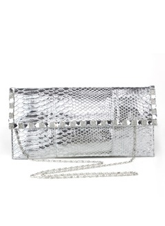 Elegant Crystal/ Rhinestone/PU With Crystal/ Rhinestone Clutches