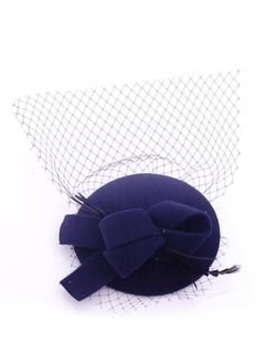 Bowknot/Charming Net Yarn/Wool Fascinators