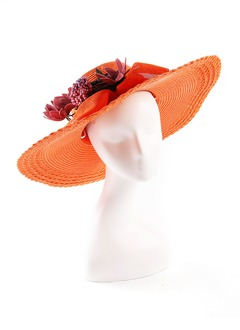 Elegant/Simple Rattan Straw Hats