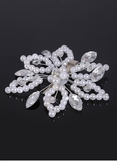 Beautiful/Fashion/Classic/Shining/Pretty/Charming Crystal/Rhinestone/Imitation Pearls Headpiece