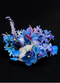 Gorgeous/Glamourous Silk Flower/Cambric Fascinators