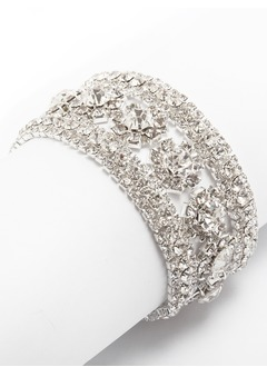 Brillant Alliage avec Strass Dames Bracelets