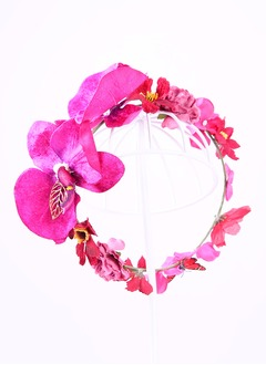 Glamourous/Elegant/Exquisite Alloy/Silk Flower Hair Jewelry