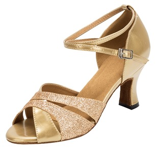 Women's Heels Latin With Ankle Strap Dance Shoes (0535119568)