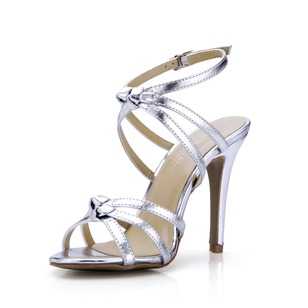 Patent Leather Stiletto Heel Sandals Pumps shoes