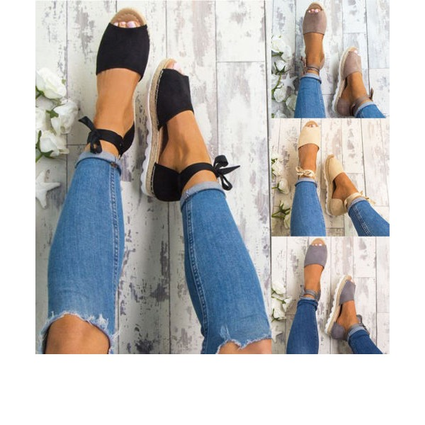 Ankle Strap Flat Heel Shoes (1625269249) 3