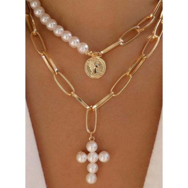 Casual Ball Pearls Pendant Necklaces (1845577940)