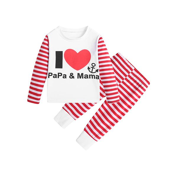 Girls' Casual Alphabet Daily Long Sleeve Clothing Sets (30145413281, Black;red