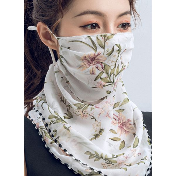 Casual Floral Scarves (1775579323)