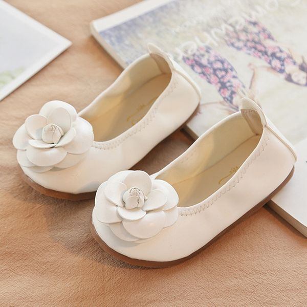 Girls' Flower Wedding Girls' Shoes (30195376716) 4
