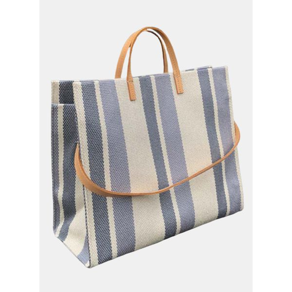 Tote Color Block Double Handle Bags (1825577869)
