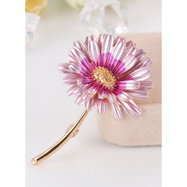 Floral No Stone Brooches (1925595969)