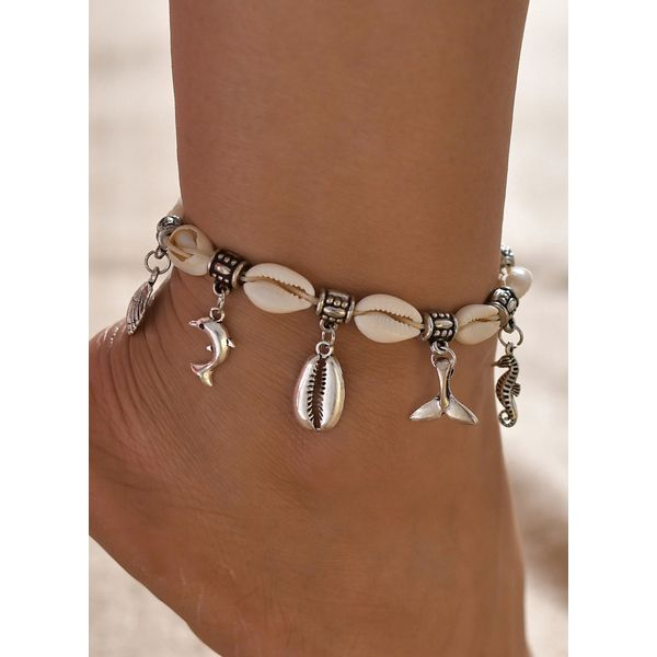 Casual No Stone Animal Anklet (1905597171)