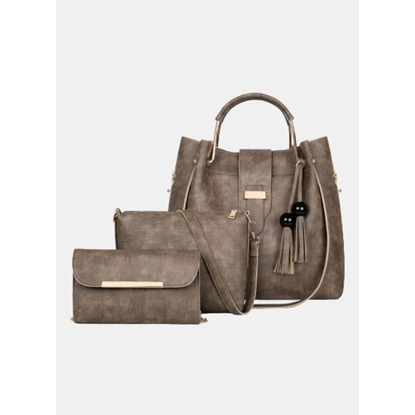 Tote Fashion Tassel Double Handle Bags (1825591773)