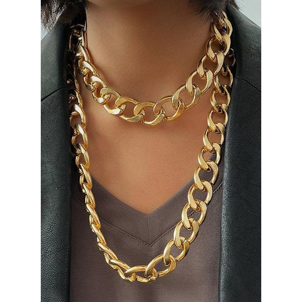 Club No Stone Without Pendant Necklaces (1845569853)