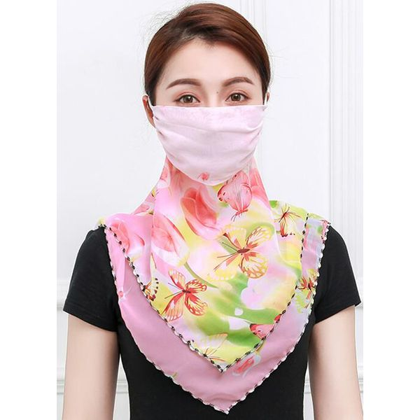 Casual Floral Scarves (1775556688)