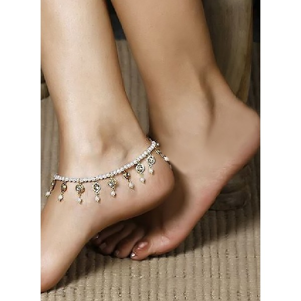 Pearls Ball Round Anklet (1905292890) 9