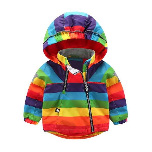 Boys' Color Block Hooded Coats (30225320765) 9
