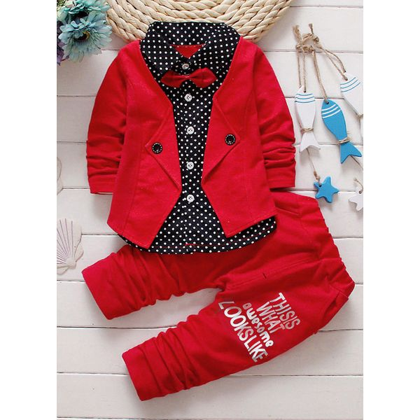 Boys' Cool Color Block Daily Long Sleeve Clothing Sets (30165341312) 6